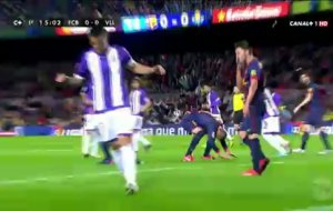 Full match: Barcelona vs Real Valladolid Liga BBVA