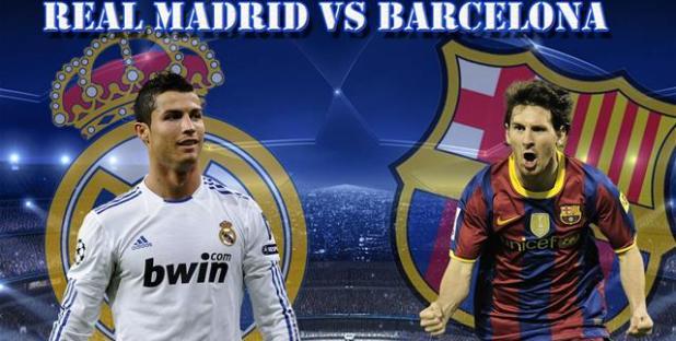 barcelona vs real madrid head to head