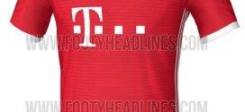 Leaked: Bayern Munich 2016-17 Home Kit | Jersey