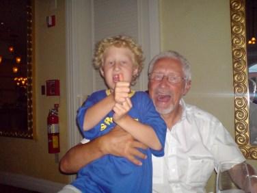 Hugo & morfar