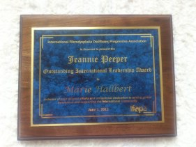 Outstanding International Leadership Award