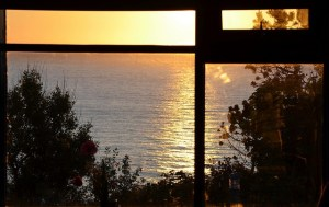 Corrymeela Sunset. Image by Nick, Creative Commons licence CC BY