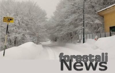 Raddoppia il freddo e il gelo, continuano le nevicate sulle Modonie !