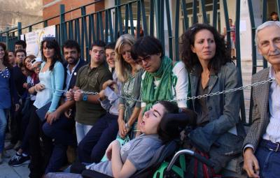 protesta-disabili