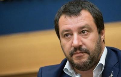 Matteo Salvini, durante la conferenza stampa alla Camera dei Deputati, Roma, 6 settembre 2017. ANSA/GIORGIO ONORATI