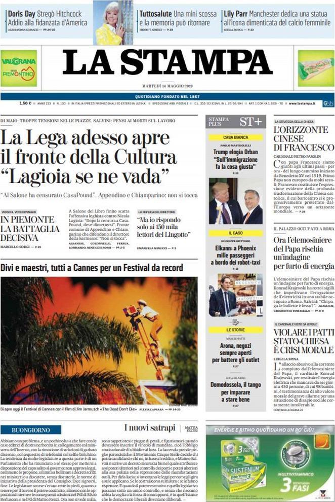 la_stampa-2019-05-14-5cda3e5dc9939