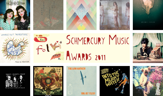 For Folk's Sake Schmercury Awards 2011