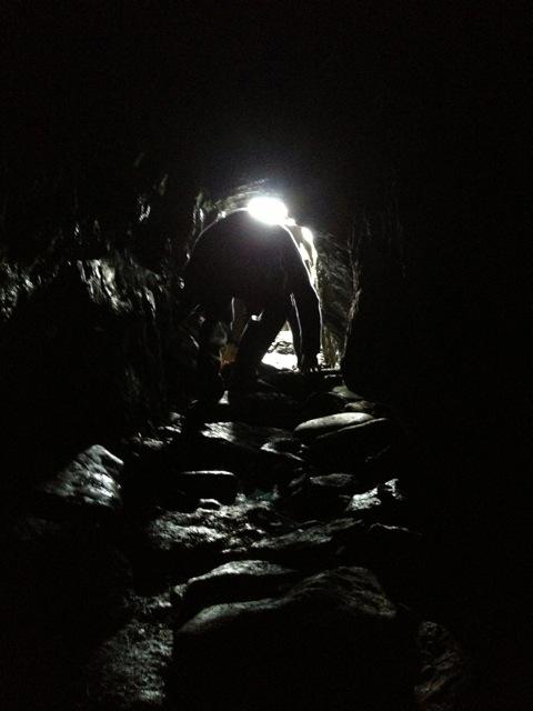 Devon Sproule tour blog Eigg Massacre cave