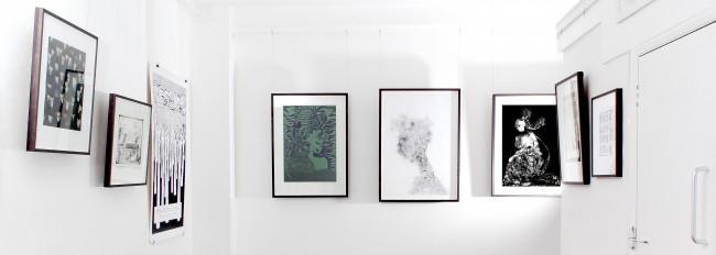 Sophie Milner exhibition Camden