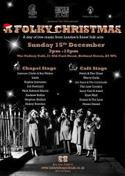 A Folky Christmas 2013 The Gallery Cafe London