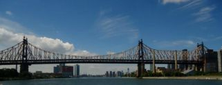 The beautiful Queensborough Bridge