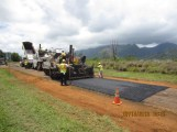A section of Kapaka Road ready to be repaved