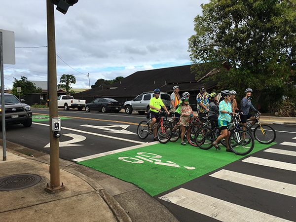 New Street Safety Features in Lihu'e