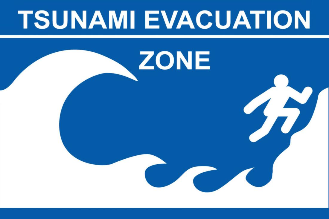 New Tsunami Evacuation Zones