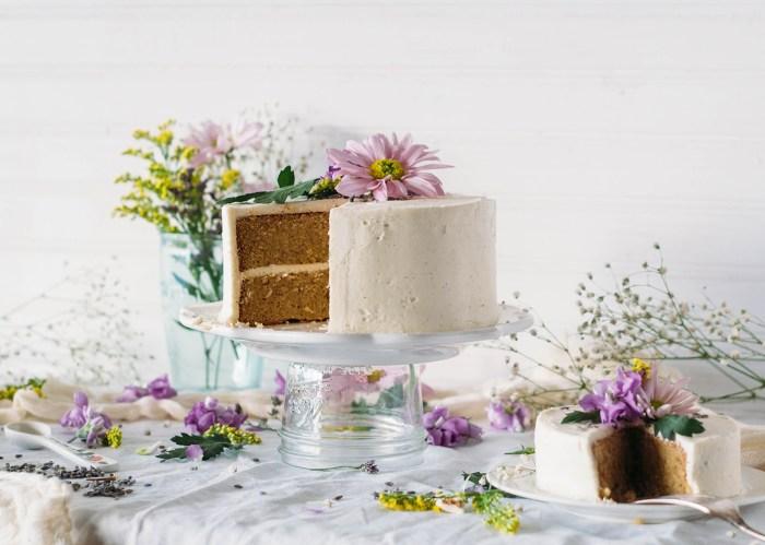 Lavender & Vanilla Bean Cake