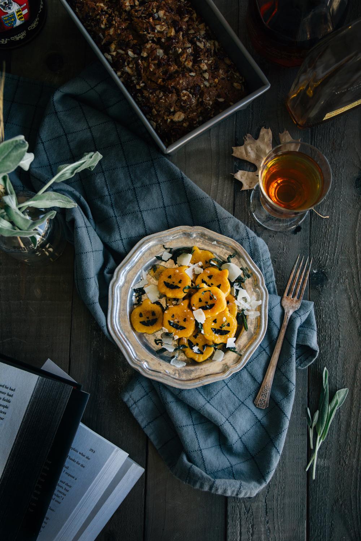 pumpkin gnocchi fork to belly