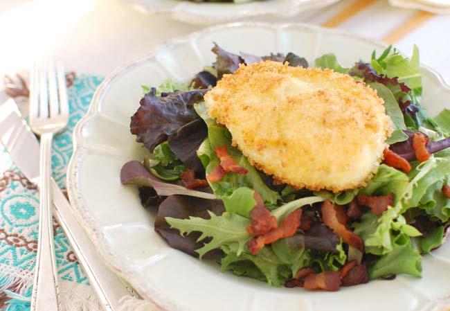 Salad Lyonnaise with Crispy Poached Egg — Former Chef