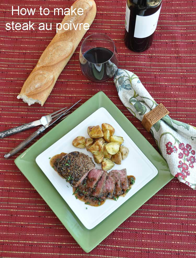 How to make Steak Au Poivre