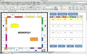 Jeu de monopoly sous Excel