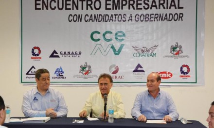 La industria petrolera de Veracruz ha generado miles de millones de dólares para el desarrollo del país, el gobierno federal tiene un compromiso moral con Veracruz que no ha cumplido. Yo me encargaré de que lo cumpla: Miguel Ángel Yunes Linares