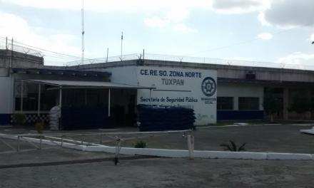 Disminuye población interna en el CERESO Tuxpan