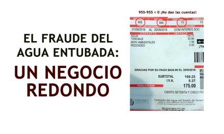 EL FRAUDE DEL AGUA ENTUBADA: UN NEGOCIO REDONDO