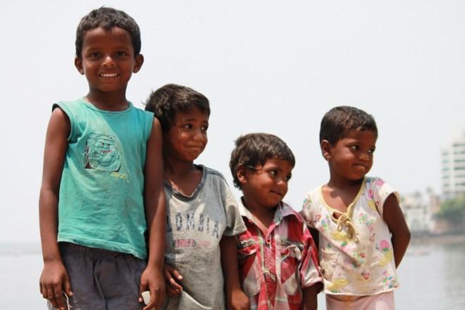 Children playing near the Sea- this week mumbai (1)