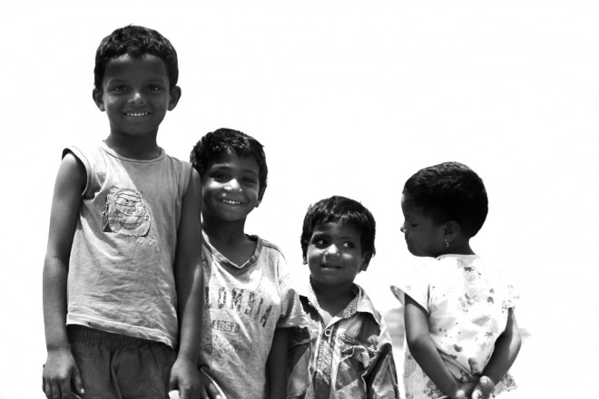 Children playing near the Sea- this week mumbai (5)