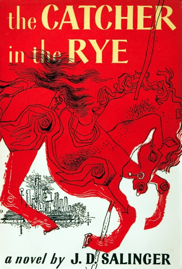 The Banned Books Of Belief-THE CATCHER IN THE RYE by J.D. SALINGER