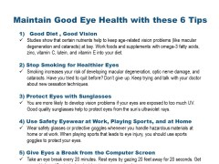 Good Eye Health