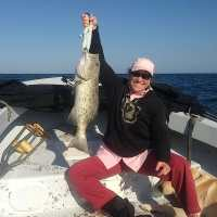 Fort Myers Fishing Report, 2/10/13 ~ grouper, Blind Pass wreck