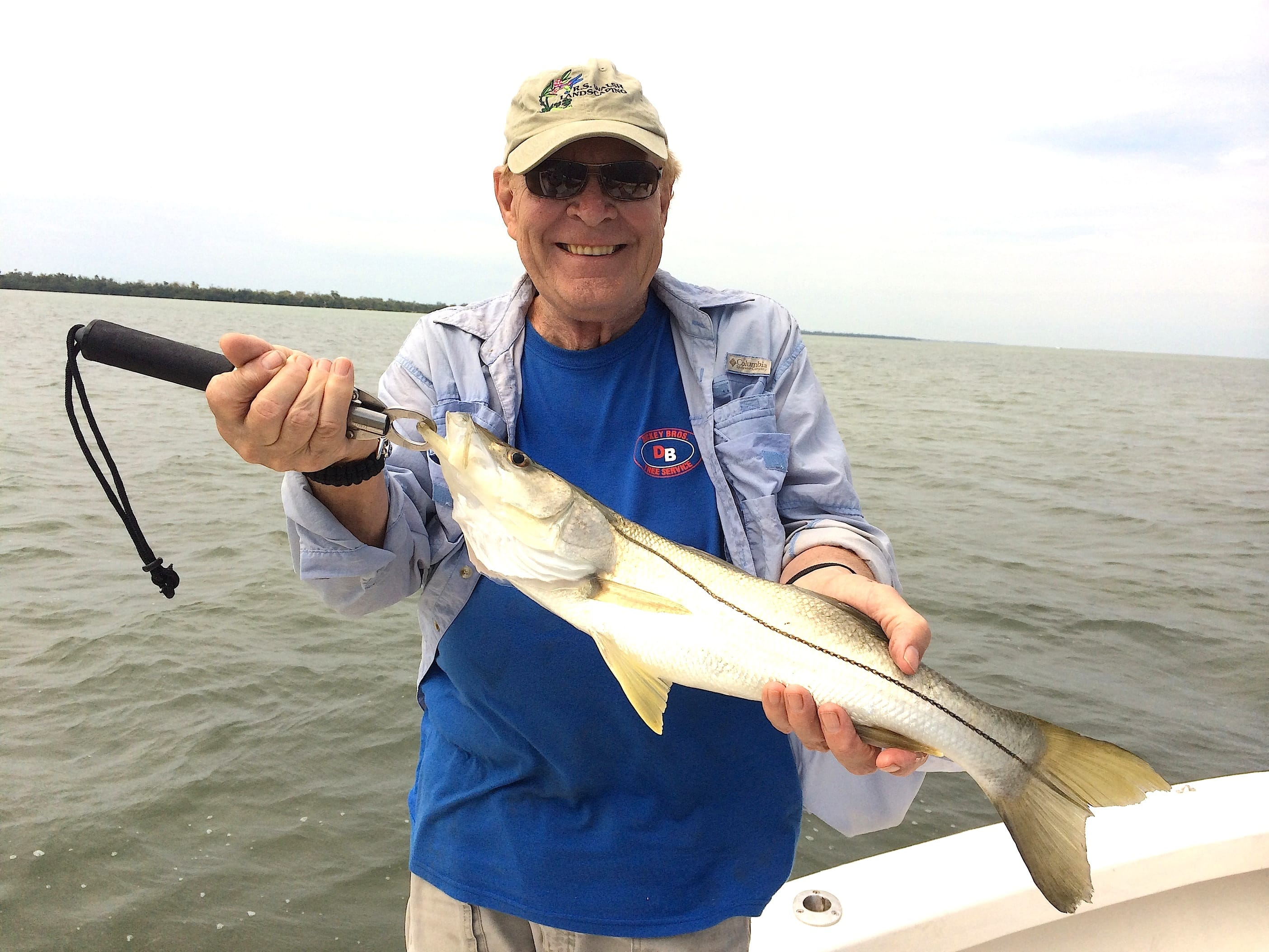3 12 14 fort myers fishing report snook fortmyers for Fishing charters fort myers
