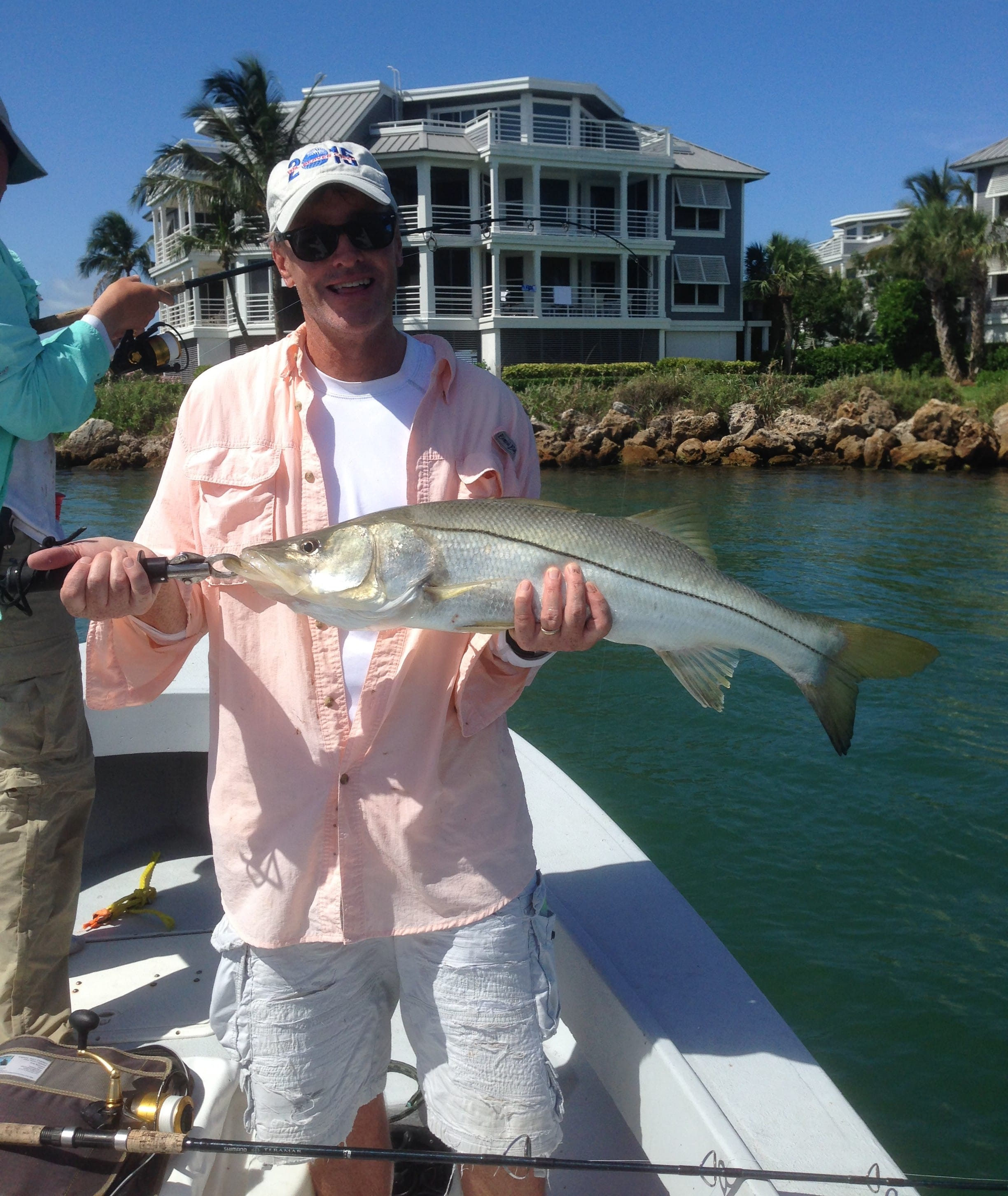 6 28 14 fort myers fishing report snook fortmyers for Half day fishing trips fort myers