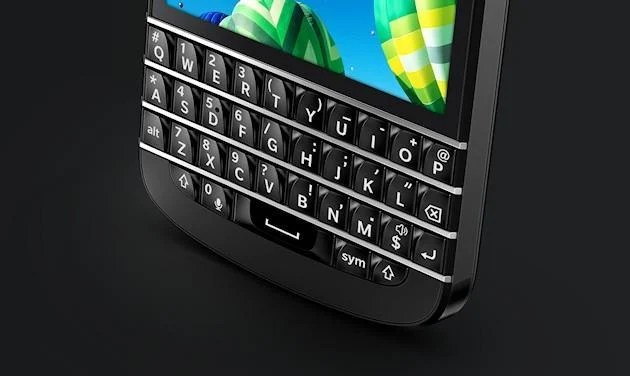 BlackBerry Q10 - Keyboard