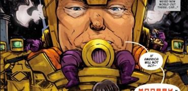 Donald Trump Is A Marvel Comic Book Supervillain