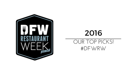 DFW Restaurant Week Food & Wine Festival + Our Top Picks!