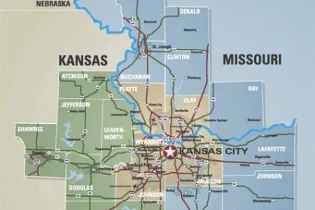 Map Of Kansas City Metropolitan Area - Map of kansas city
