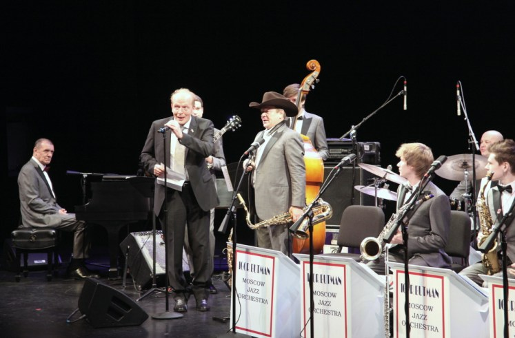 Игорь Бутман на концерте в Хьюстоне. Фото Ольги Вайнер, «Наш Техас».