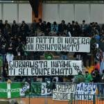 Striscione tifosi Castelfidardo