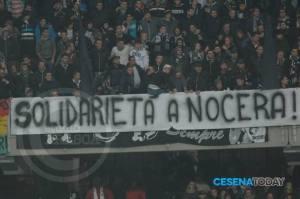 Striscione tifosi Cesena