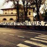 Striscione tifosi Siena