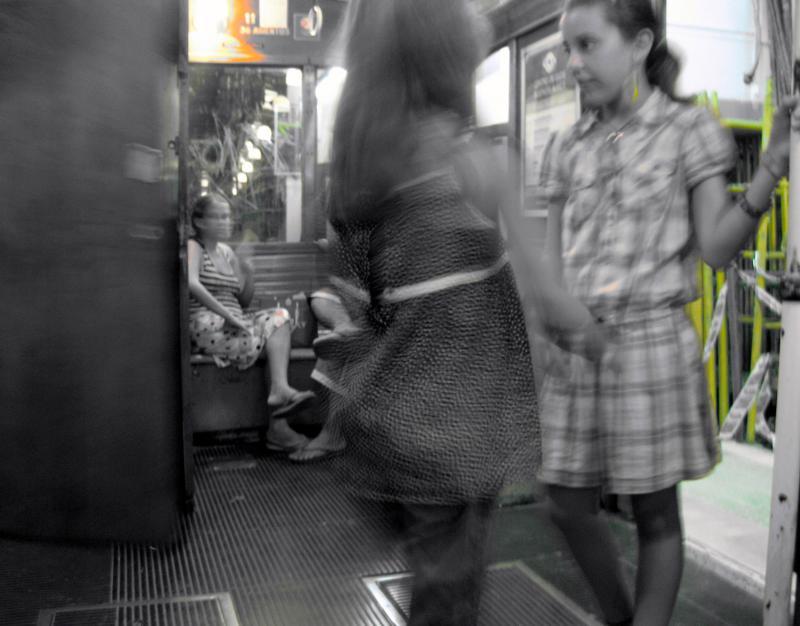 Juegos en el metro (María Cristina Andrade Amador)