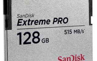 SanDisk Extreme PRO® CFast