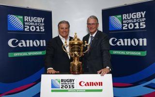 Canon patrocinará la Copa del Mundo de Rugby 2015