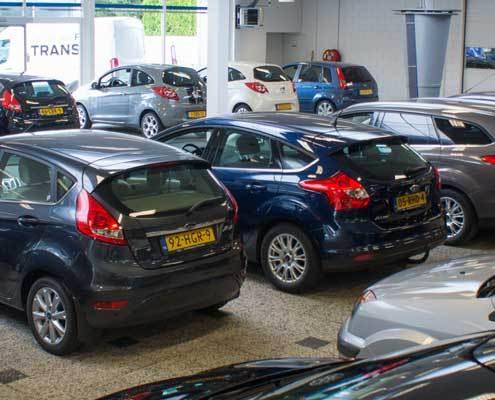 Auto-showroom Ford zevenaar