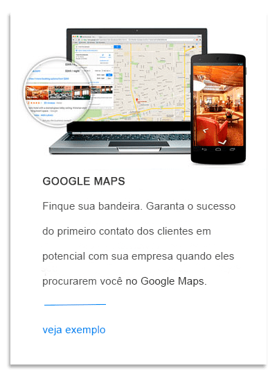 Destaque no Google Maps