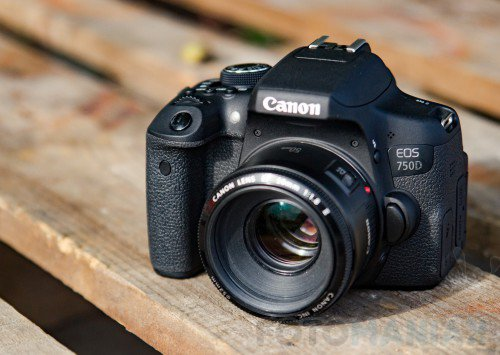 Canon EOS 750D / fot. fotoManiaK.pl