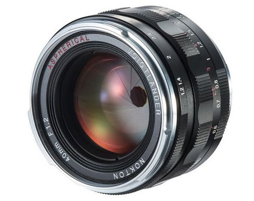 Voigtlander Nokton 40 mm f/1,2