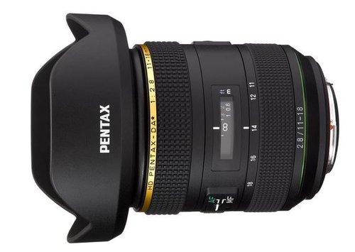 Pentax-DA HD ED 11-18 mm f/2.8 DC AW