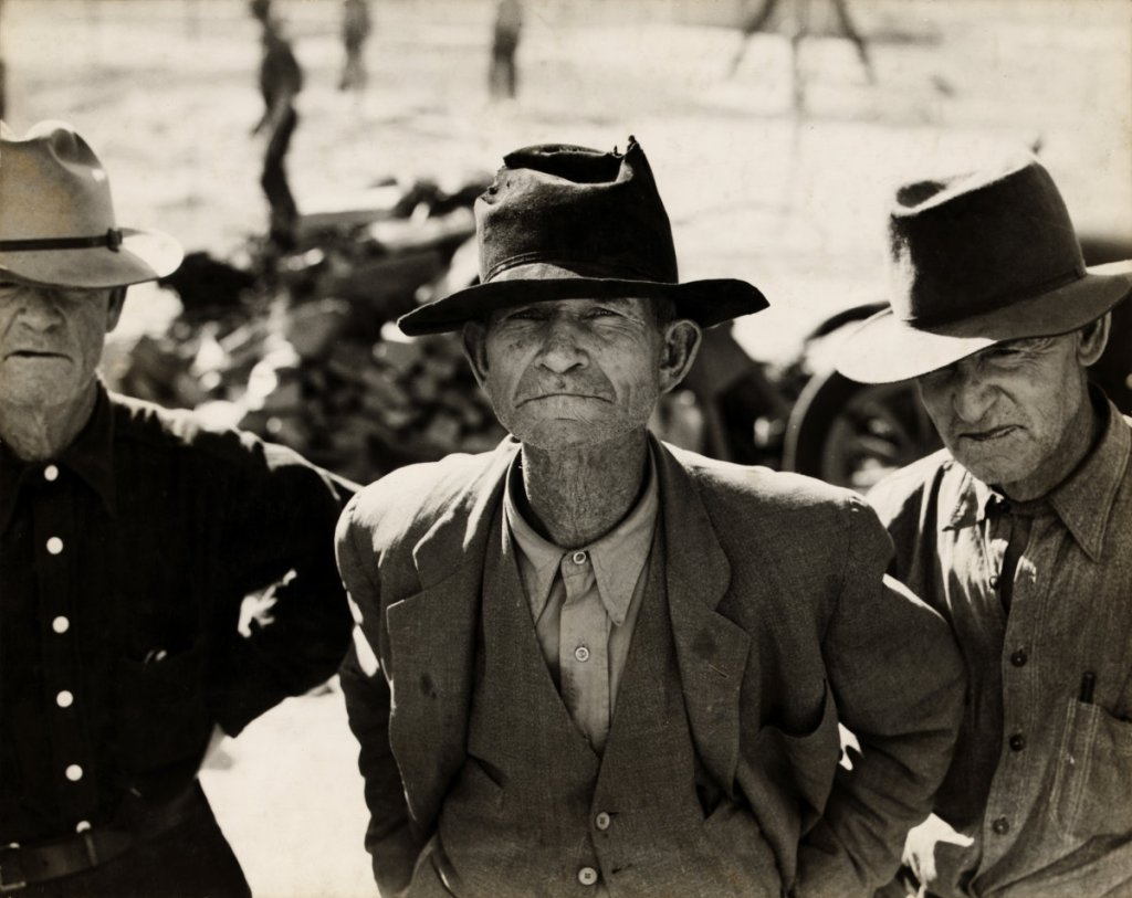 Dorothea Lange, Ex-Tenant Farmer on Relief Grant in the Imperial Valley, California, 1937.